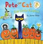 Book cover of PETE THE CAT 5 LITTLE PUMPKINS