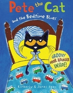 Book cover of PETE THE CAT & THE BEDTIME BLUES