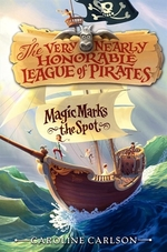 Book cover of VERY NEARLY HON LEAGUE OF PIRATES 01