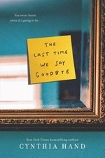 Book cover of LAST TIME WE SAY GOODBYE