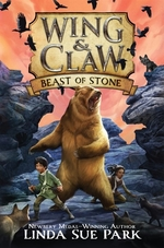 Book cover of WING & CLAW 03 BEAST OF STONE