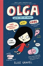 Book cover of OLGA WE'RE OUT OF HERE