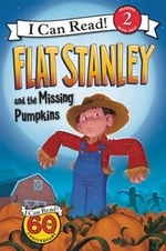 Book cover of FLAT STANLEY & THE MISSING PUMPKINS