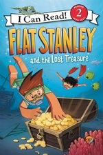 Book cover of FLAT STANLEY & THE LOST TREASURE