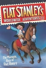 Book cover of FLAT STANLEY'S WORLDWIDE ADVENTURES 13