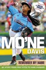Book cover of MO'NE DAVIS REMEMBER MY NAME