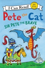 Book cover of PETE THE CAT SIR PETE THE BRAVE
