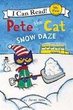 Book cover of PETE THE CAT SNOW DAZE
