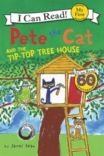Book cover of PETE THE CAT & THE TIP TOP TREEHOUSE