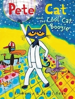 Book cover of PETE THE CAT & THE COOL CAT BOOGIE