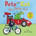 Book cover of PETE THE CAT - GO PETE GO