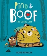 Book cover of PINE & BOOF - THE LUCKY LEAF