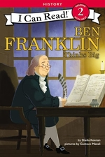 Book cover of BEN FRANKLIN THINKS BIG