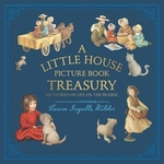 Book cover of LITTLE HOUSE PICTURE BOOK TREASURY