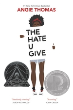 Book cover of HATE U GIVE