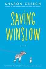 Book cover of SAVING WINSLOW