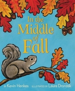 Book cover of IN THE MIDDLE OF FALL