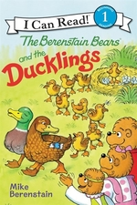 Book cover of BERENSTAIN BEARS & THE DUCKLINGS