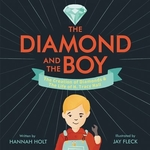 Book cover of DIAMOND & THE BOY