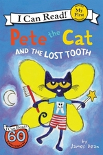 Book cover of PETE THE CAT & THE LOST TOOTH
