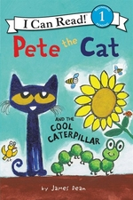 Book cover of PETE THE CAT & THE COOL CATERPILLAR