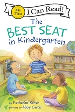 Book cover of BEST SEAT IN KINDERGARTEN