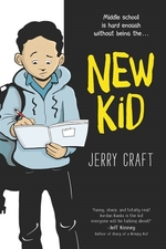 Book cover of NEW KID