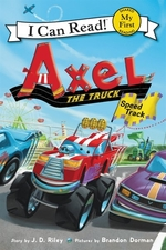 Book cover of AXEL THE TRUCK SPEED TRACK