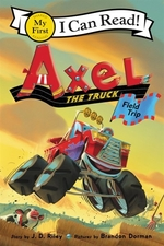 Book cover of AXEL THE TRUCK - FIELD TRIP