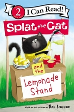 Book cover of SPLAT THE CAT & THE LEMONADE STAND