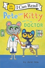 Book cover of PETE THE KITTY GOES TO THE DOCTOR