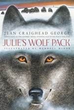 Book cover of JULIE'S WOLF PACK