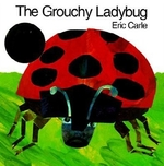 Book cover of GROUCHY LADYBUG