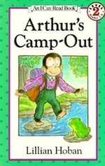 Book cover of ARTHUR'S CAMP-OUT