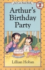 Book cover of ARTHUR'S BIRTHDAY PARTY