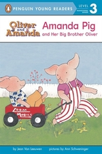 Book cover of AMANDA PIG & HER BIG BROTHER OLIVER
