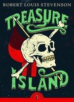 Book cover of TREASURE ISLAND - PUFFIN CLASSICS
