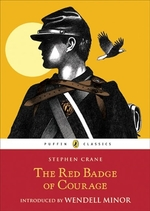 Book cover of RED BADGE OF COURAGE