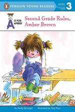 Book cover of AMBER BROWN - 2ND GRADE RULES