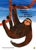 Book cover of SLOWLY SLOWLY SAID THE SLOTH