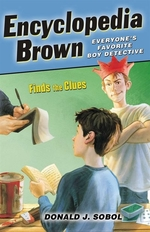 Book cover of ENCY BROWN FINDS THE CLUES