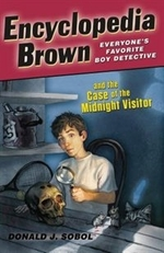 Book cover of ENCY BROWN & THE CASE OF THE MIDNIGHT VI