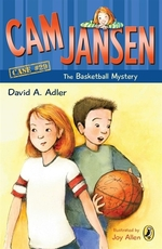 Book cover of CAM JANSEN 29 BASKETBALL MYSTERY