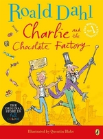 Book cover of CHARLIE & THE CHOCOLATE FACTORY