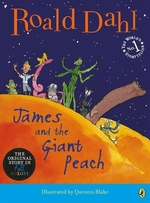 Book cover of JAMES & THE GIANT PEACH