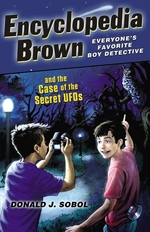 Book cover of ENCY BROWN CASE OF THE SECRET UFO'S