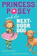 Book cover of PRINCESS POSEY 03 NEXT DOOR DOG