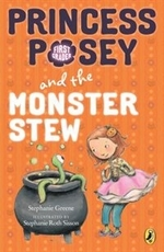 Book cover of PRINCESS POSEY 04 MONSTER STEW