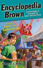 Book cover of ENCY BROWN & THE CASE OF THE CARNIVAL CR