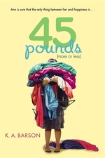 Book cover of 45 POUNDS MORE OR LESS